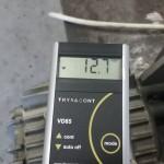 Rietschle VC150 vákuummérés